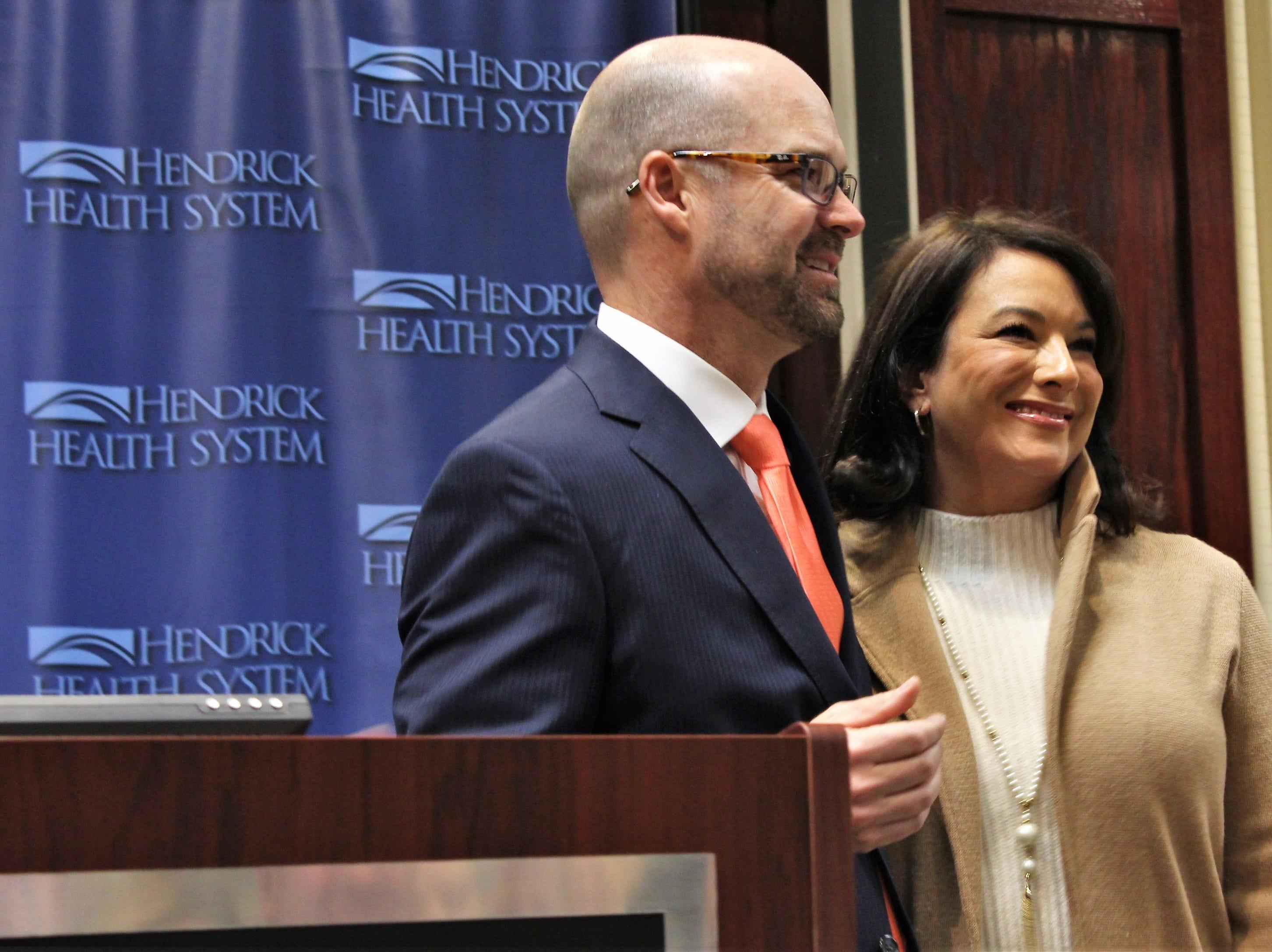 Hendrick Health System names Brad Holland president and CEO