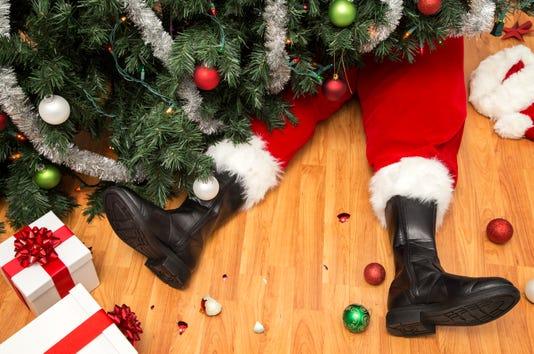 Santa Claus S Disaster