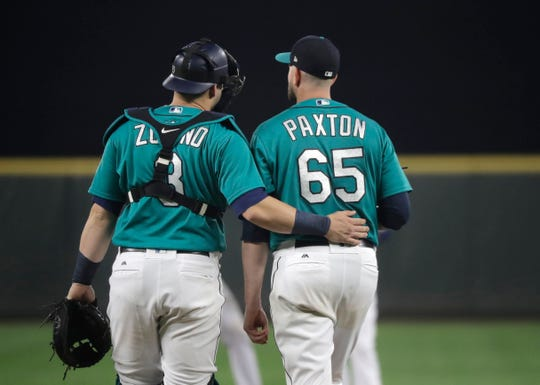 Could James Paxton join former battery-mate Mike Zunino in leaving Seattle this winter?
