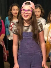 "Libby McDonald plays the title role in ""Junie B. Jones, the Musical."""