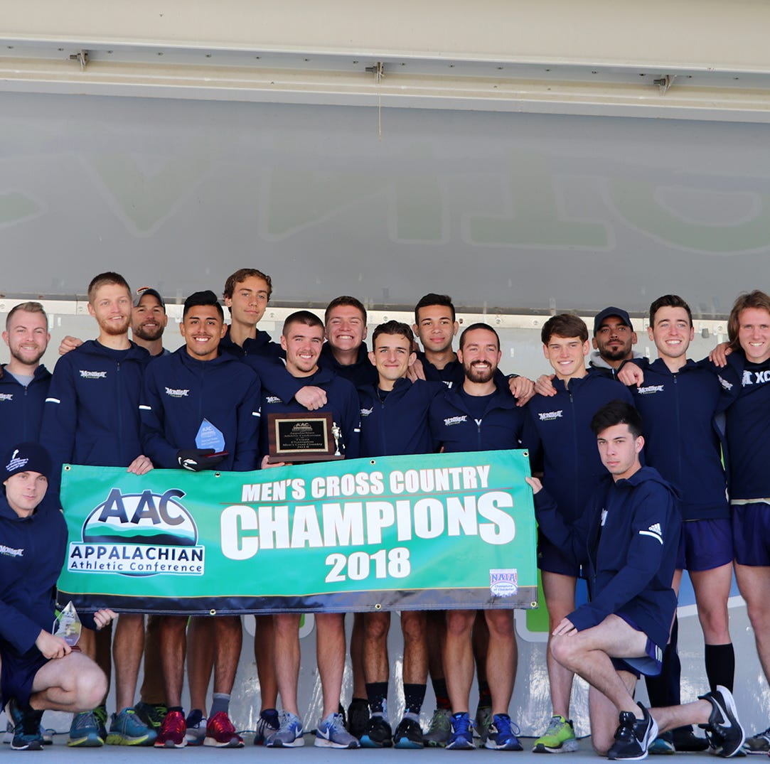 Montreat College cross country brings home first AAC title