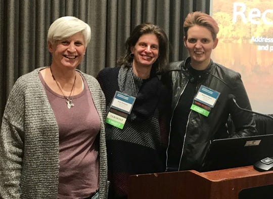 Diane Kinney, Emily Rothman and Rebecca Stone.