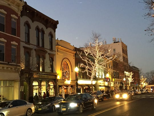 Red Bank is full of holiday cheer, with Christmas music heard on the sidewalks, pictures with Santa, holiday horse and carriage rides and more.