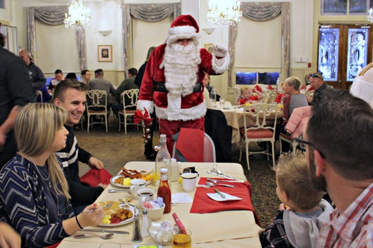 The man in the jolly red suit will be coming to town and visiting the Inn of Cape May, 7 Ocean St., for Breakfast with Santa at 10 a.m. on Saturdays, Nov. 24, Dec. 1, Dec. 8 and Sundays, Dec. 2 and Dec. 9.
