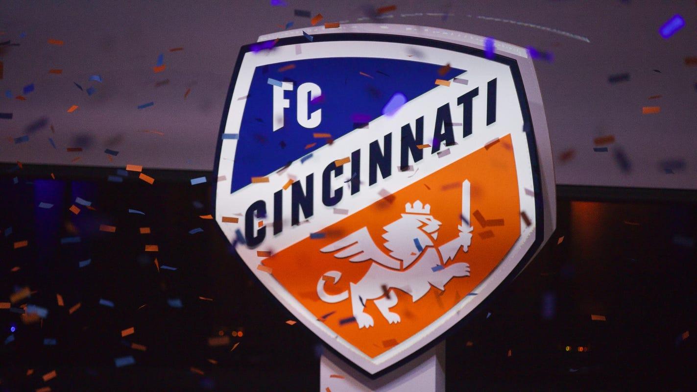 It S Here Fc Cincinnati Unveils New Marks Crest Ahead Of