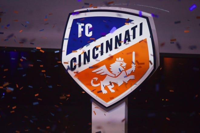 FC Cincinnati brand unveiling at Woodward Theater.