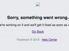 Is Facebook down for you too?