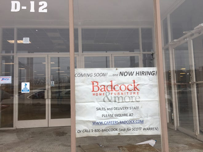Badcock Home Furniture & More is now hiring for its planned Two Rivers Center location.