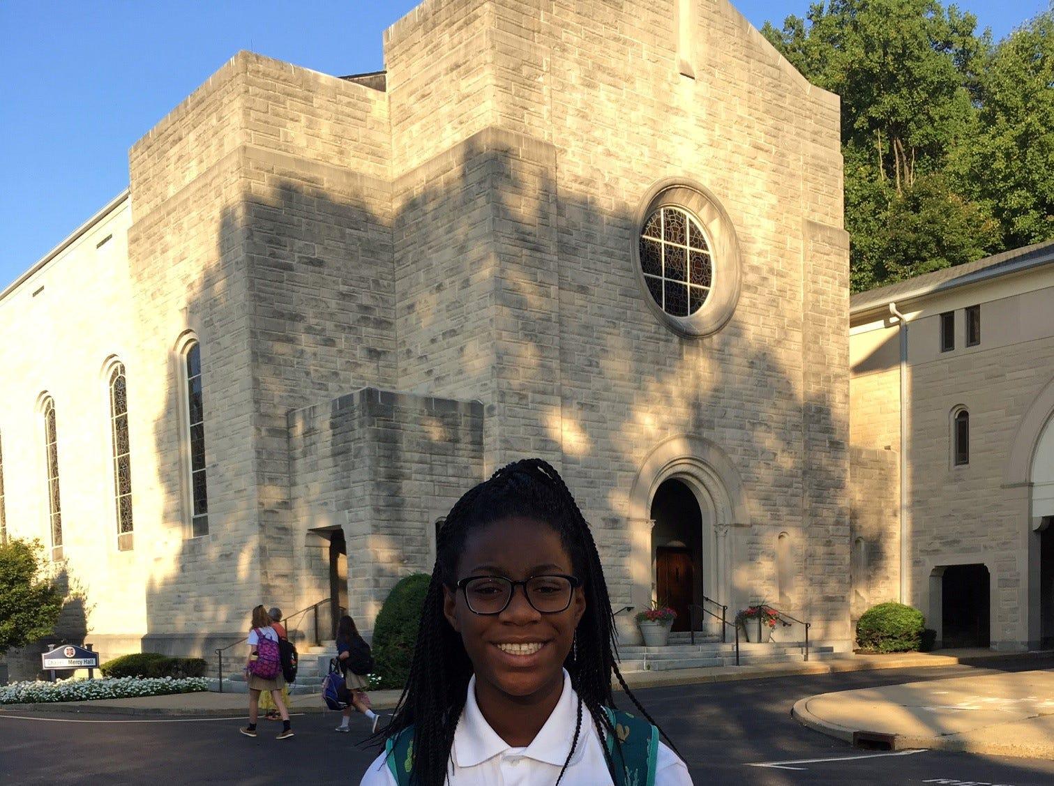 Gabriella Robinson of Piscataway earns Girl Scout silver award