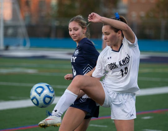 Pingry vs. Oak Knoll girls soccer in the NJSIAA Non-Public A final on Sunday, Nov. 11, 2018 at Kean University.