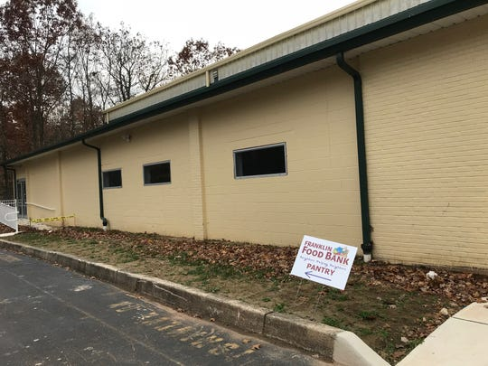 The Franklin Food Bank operations are expected to move to this new location on Churchill Avenue early next year.