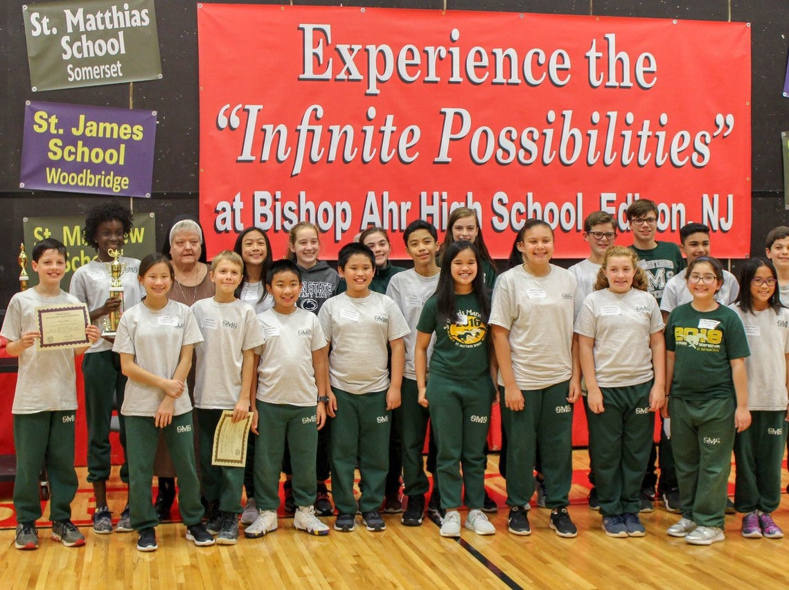 First place St. Matthias School