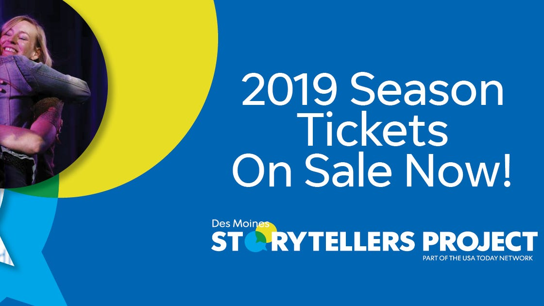 Storytellers Project 2019 season tickets presale