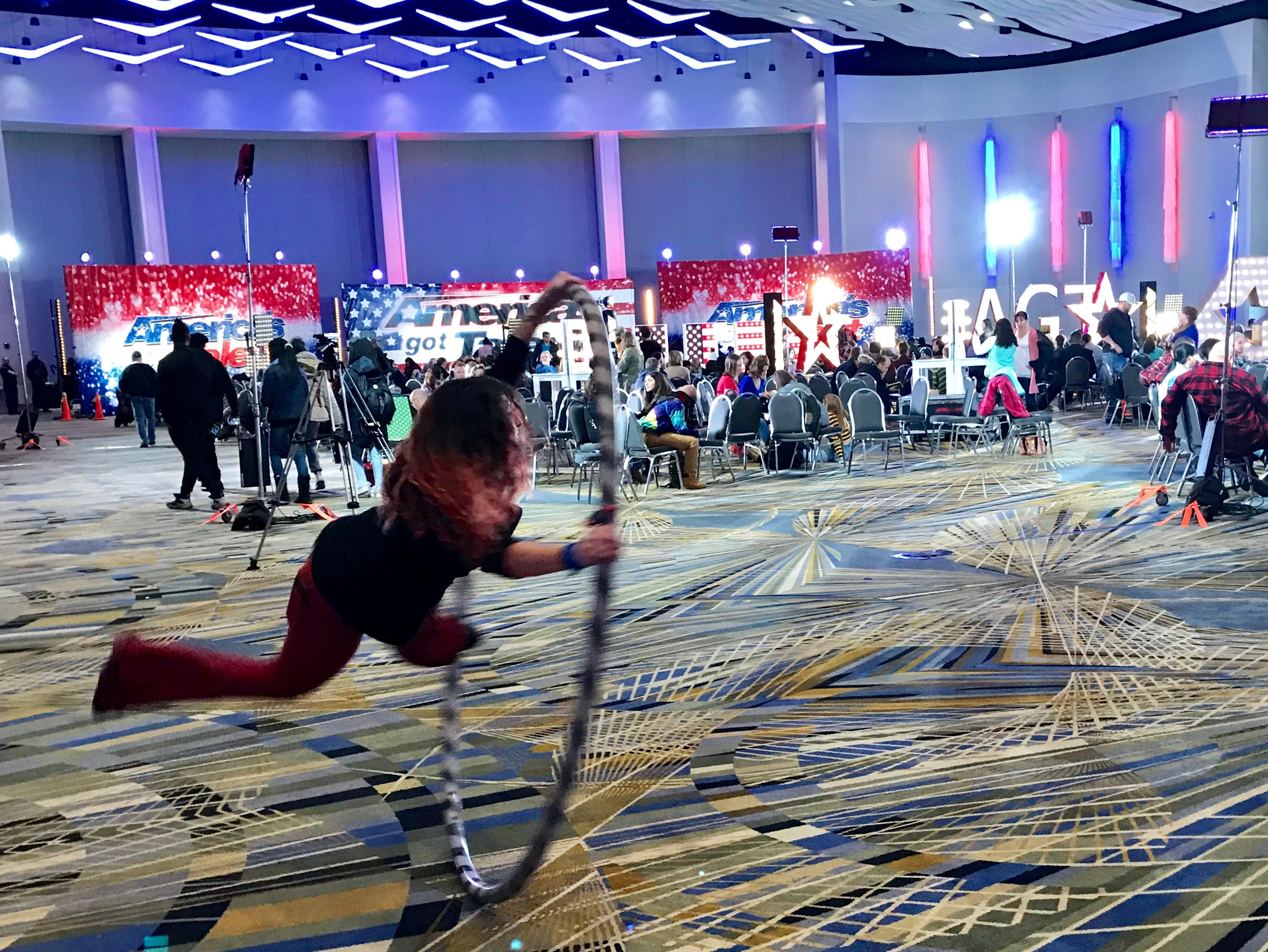'America's Got Talent' searches Detroit for stars, finds thousands of hopefuls