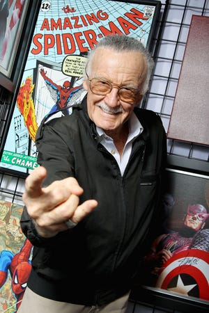 Stan Lee during New York Comic Con, Friday, Oct. 12, 2012 at Jacob K. Javits Convention Center in New York.