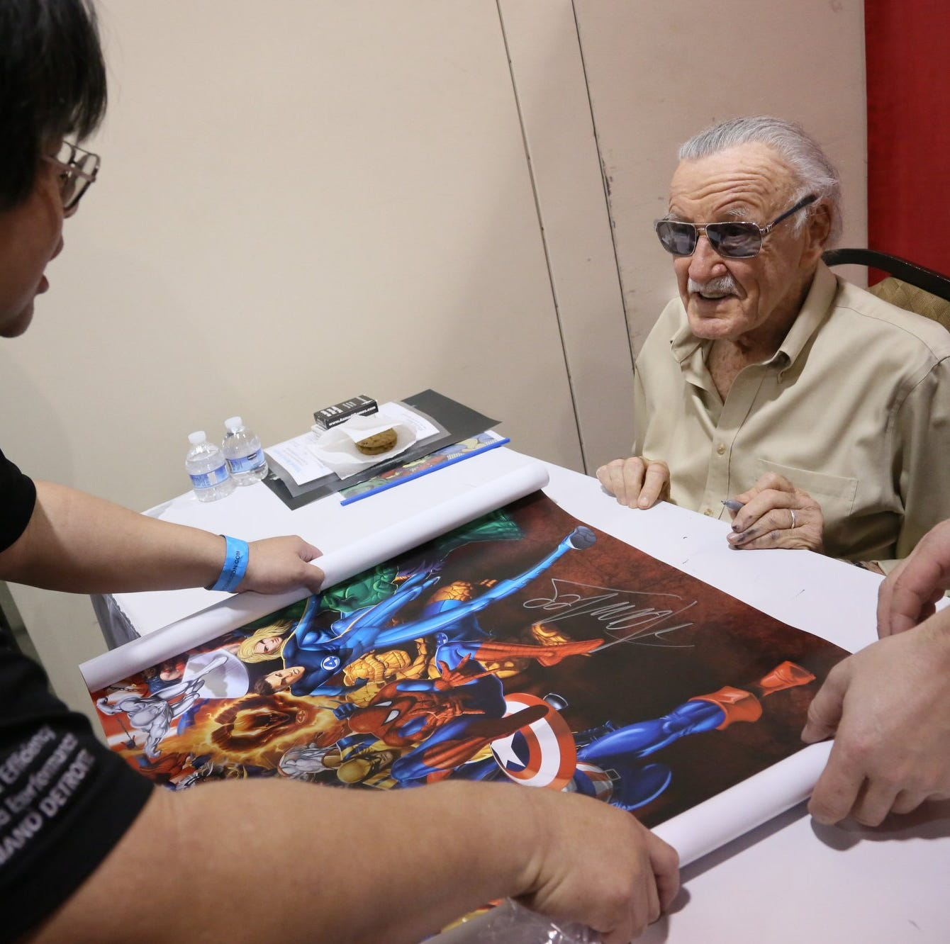 The time Stan Lee made a rock-star visit to metro Detroit's Motor City Comic Con