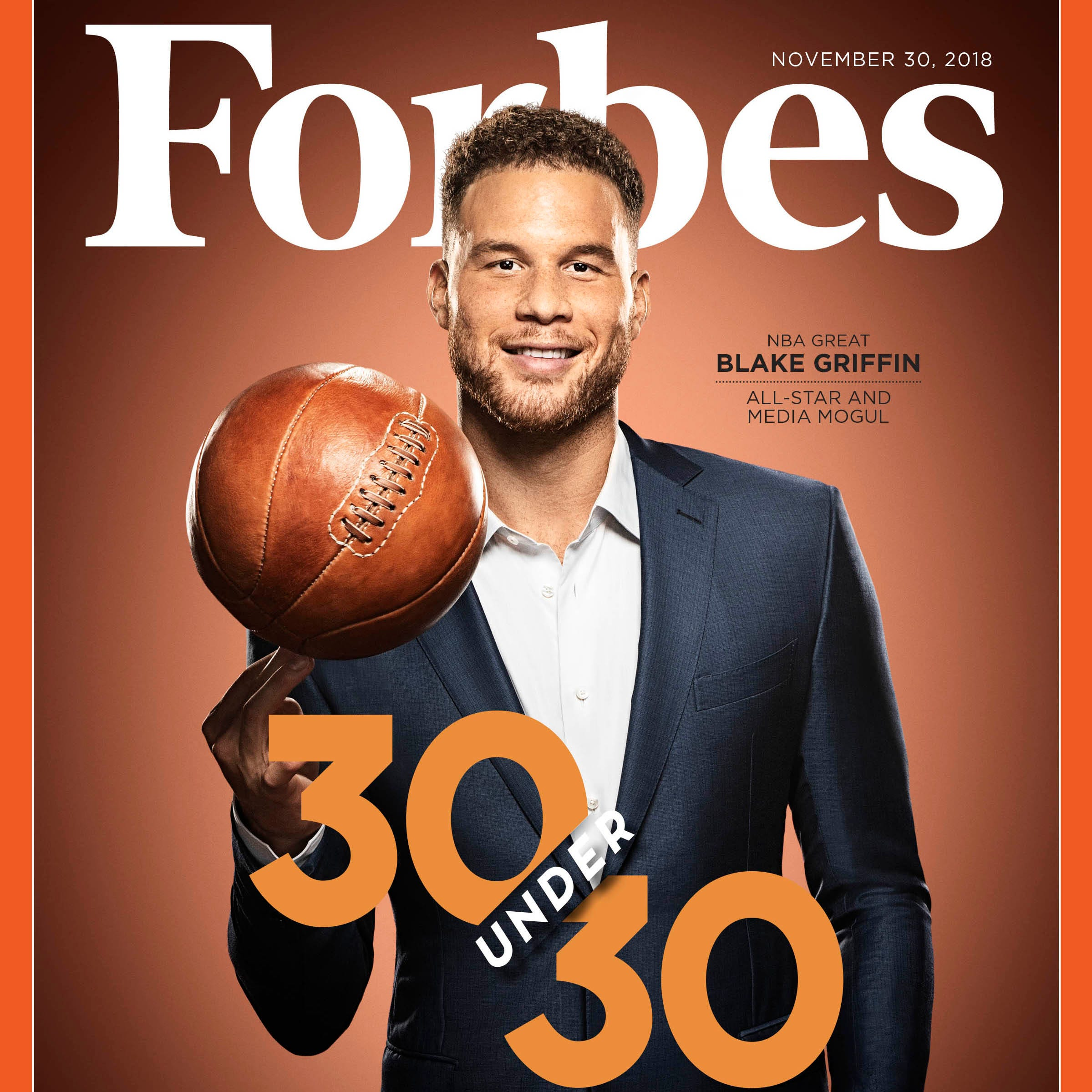 Detroit Pistons' Blake Griffin headlines 2019 Forbes 30 Under 30 list
