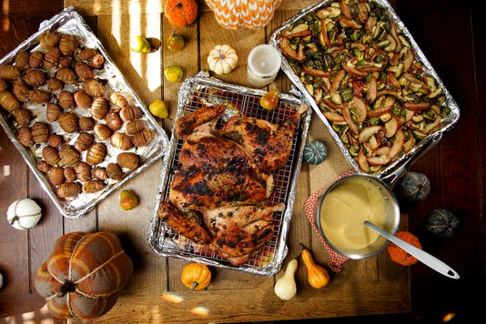 Still Planning Your Thanksgiving Meal Keep It Simple Cook Everything On A Sheet Pan