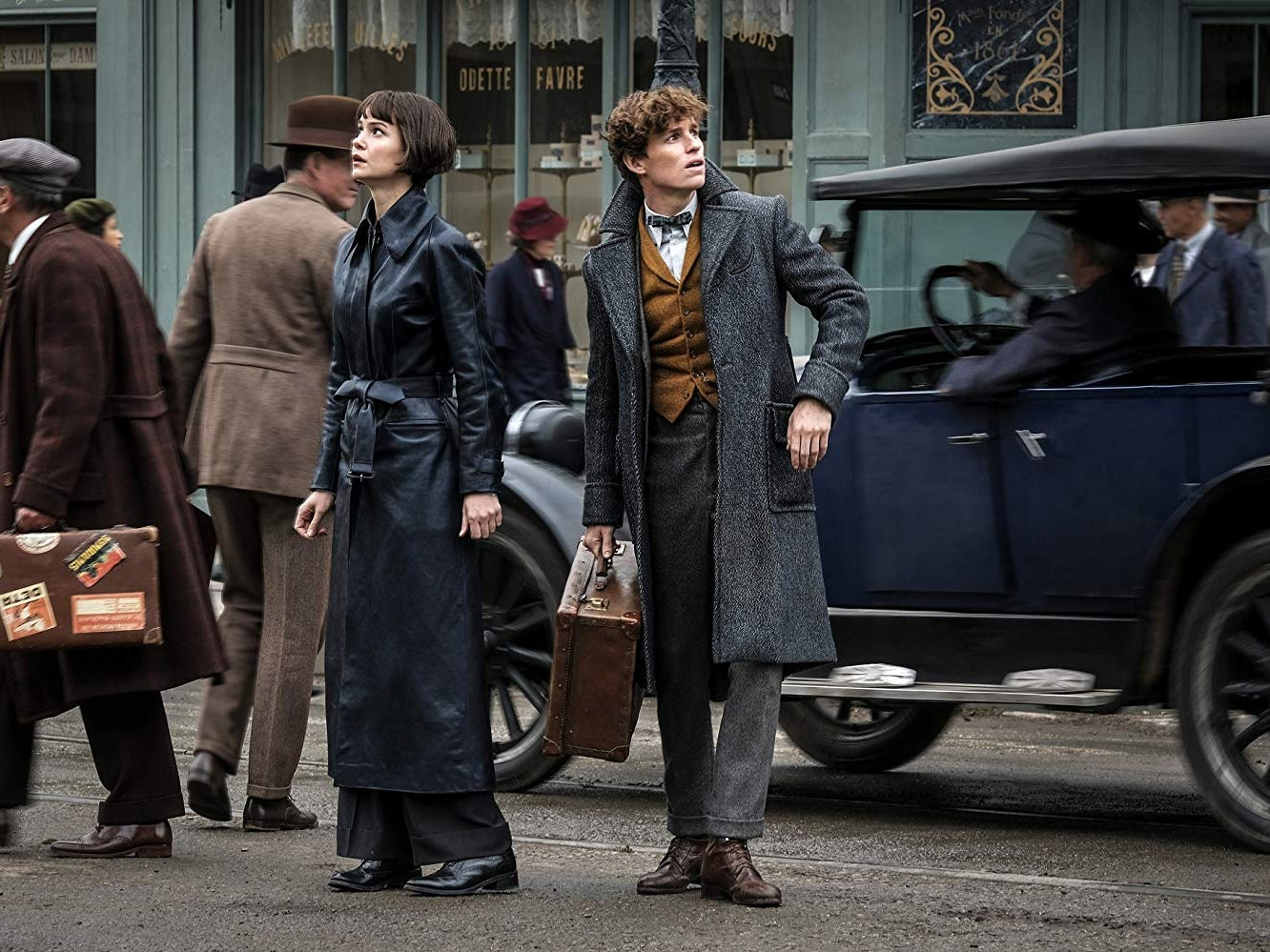 Review: Not-so-fantastic 'Beasts' spins its wheels