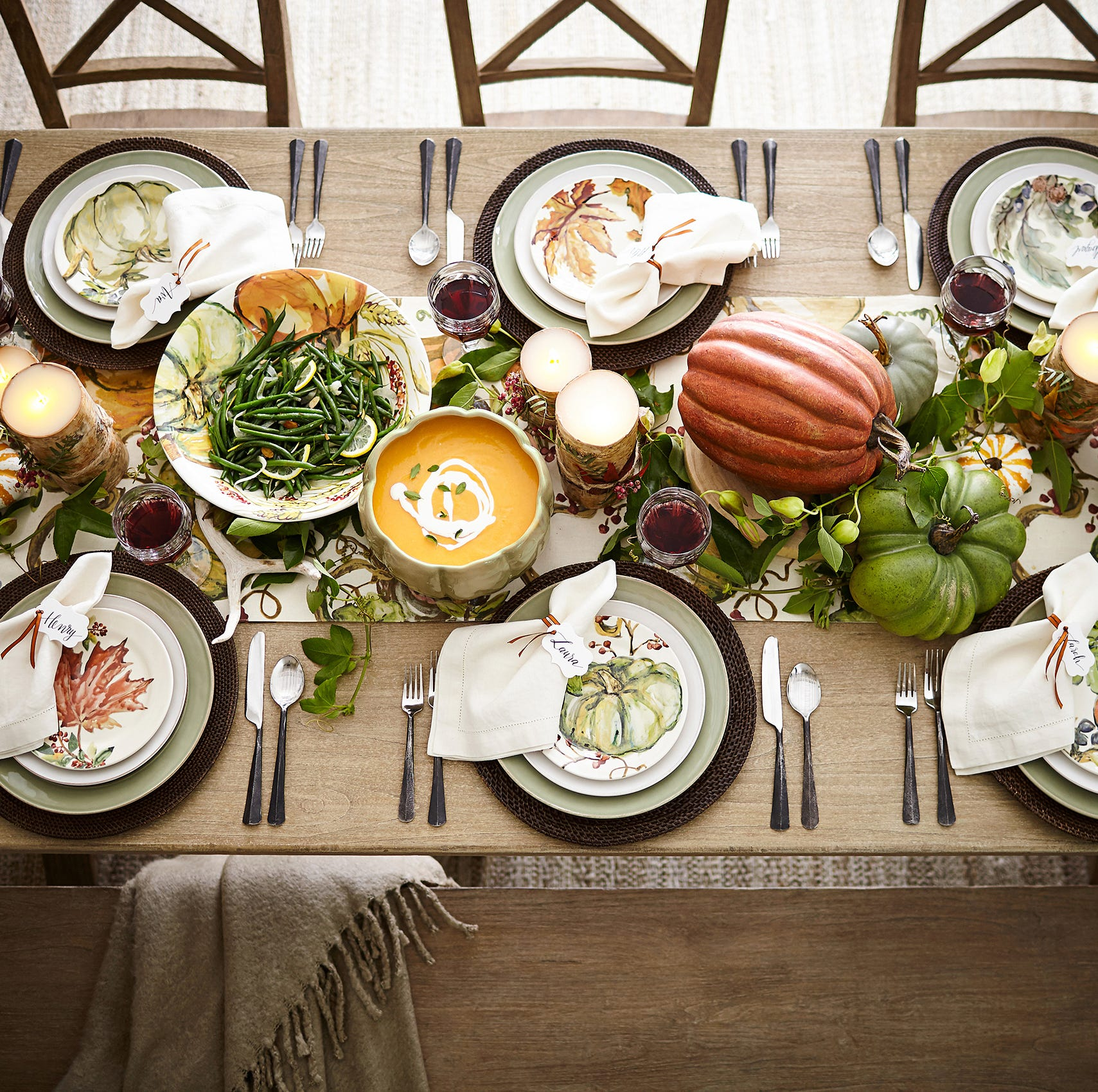 Find the right trimmings for your holiday tabletop