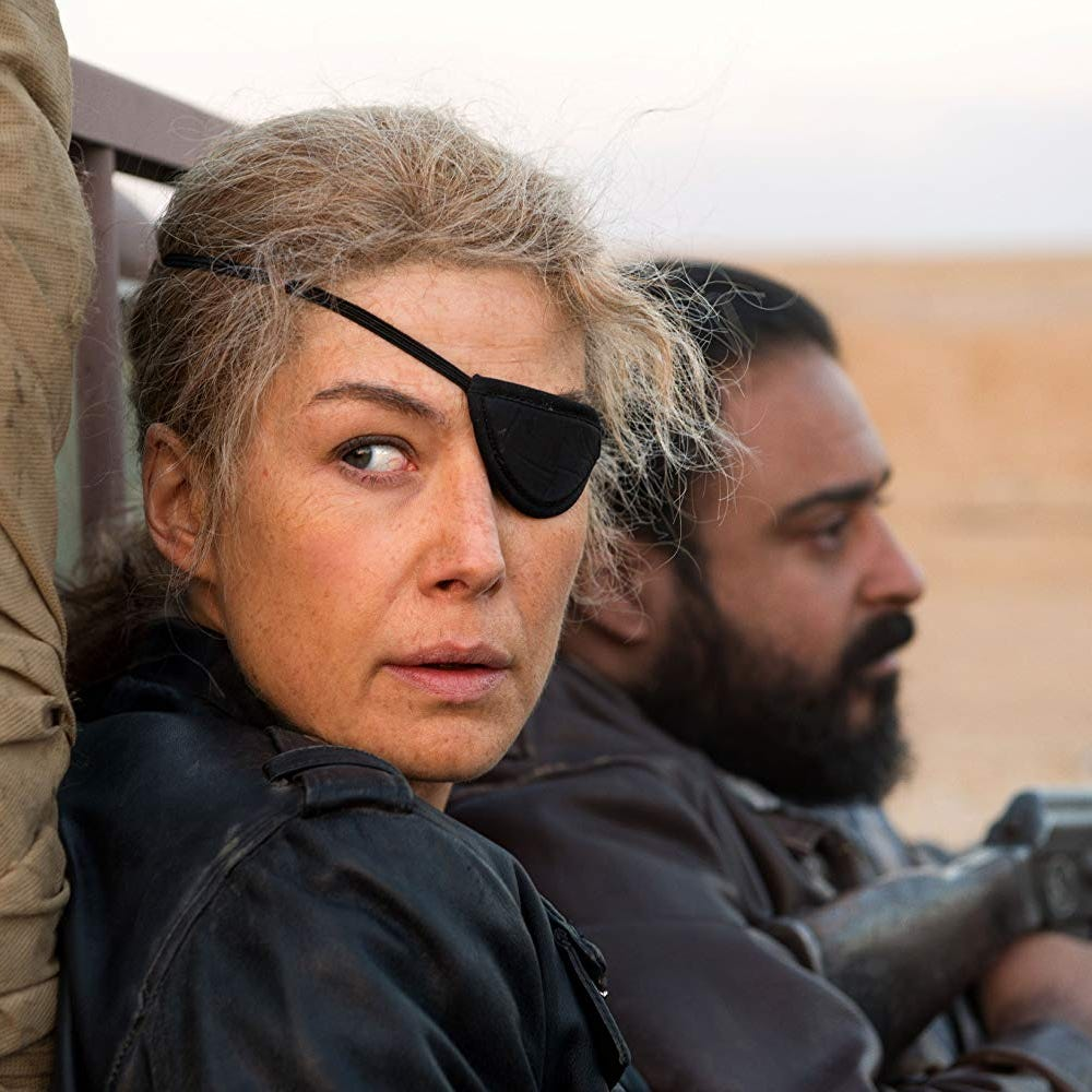 Review: Rosamund Pike tremendous in journalist tale 'A Private War'