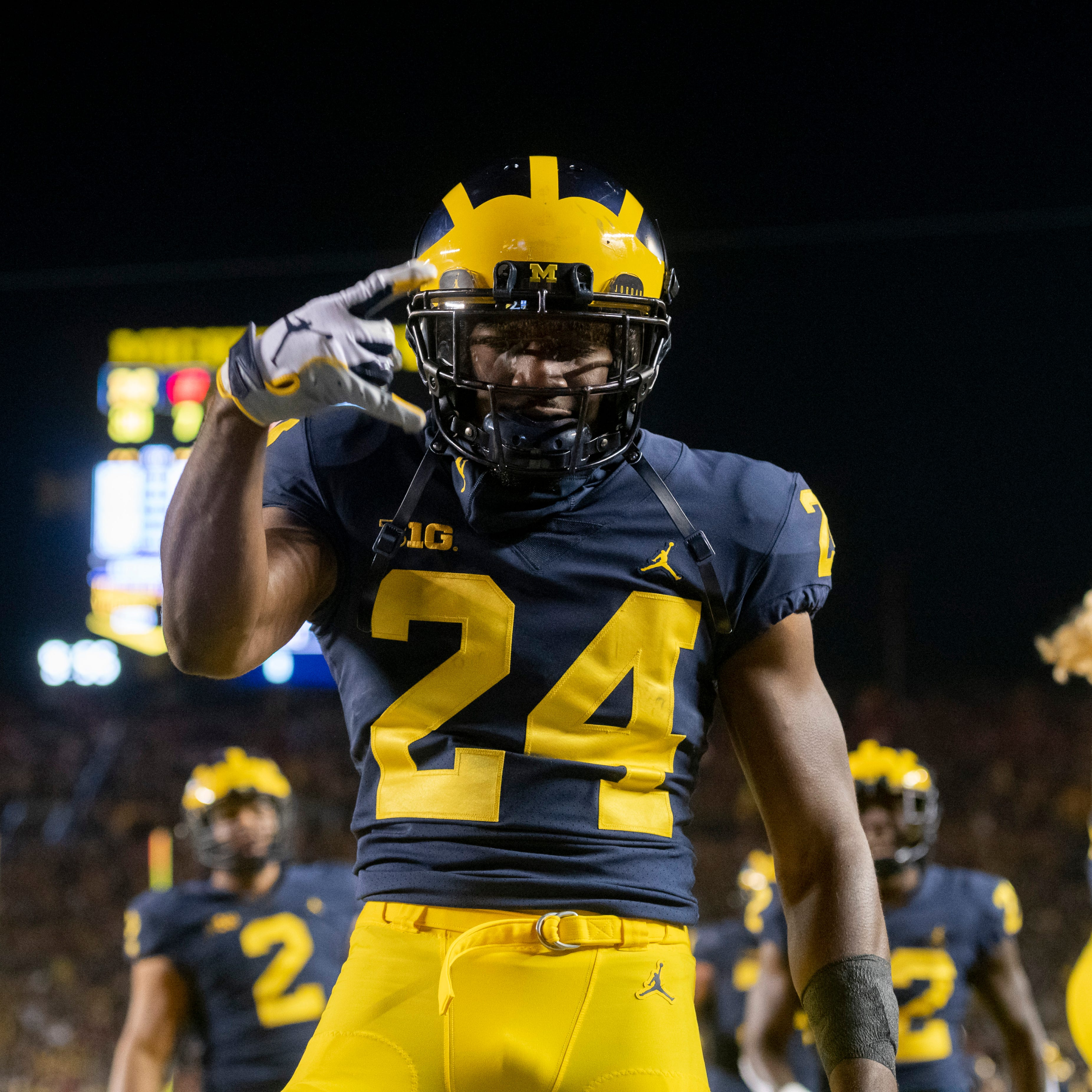 Hill 'being evaluated'; Solomon, Paye expected back for Michigan