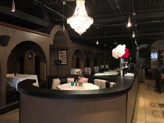 Motown Bistro has booths themed after artists from the label's history.