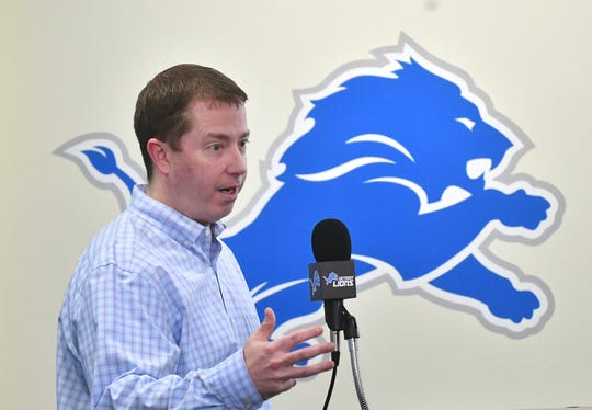 Detroit Lions general manager Bob Quinn appears to have struck gold by drafting running back Kerryon Johnson, but moves such as the release of tight end Eric Ebron will be second-guessed.