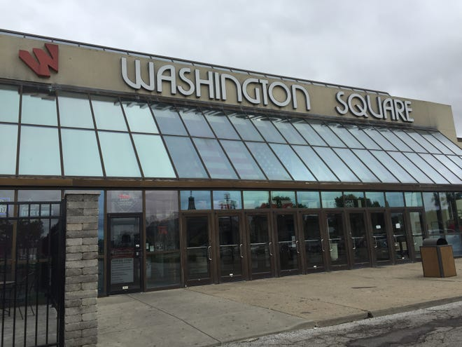 Washington Square Mall is a popular place to vote, and its owner hopes it will regain some status as a shopping location.