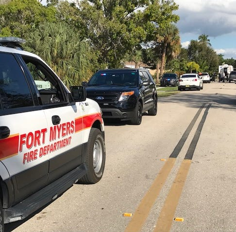FMPD, area authorities on scene at Alhambra Drive