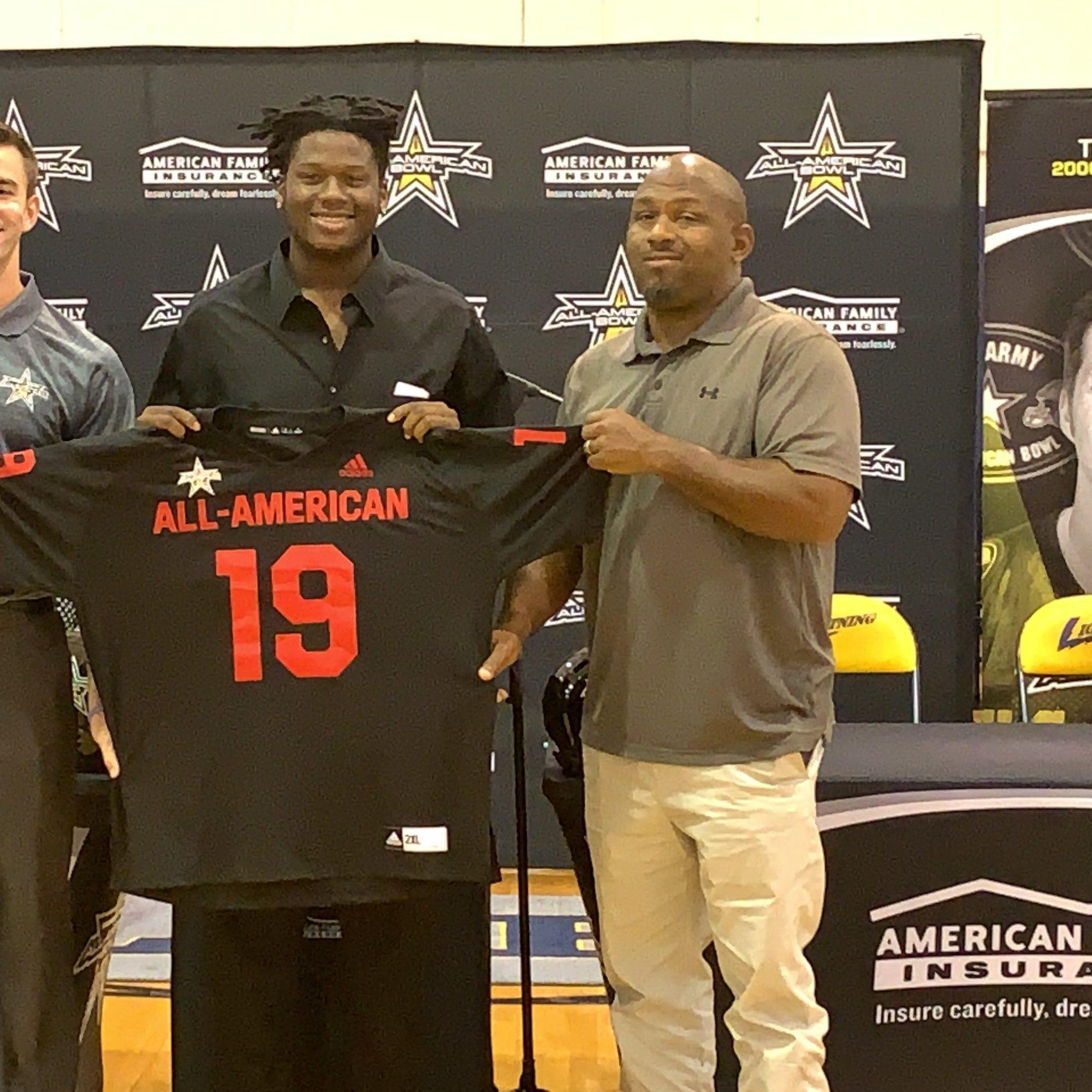 Florida State commit, Lehigh 4-star DE Quashon Fuller receives All-American Bowl jersey