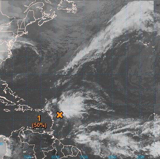 Cooler weather headed this way, tropical wave to stay away