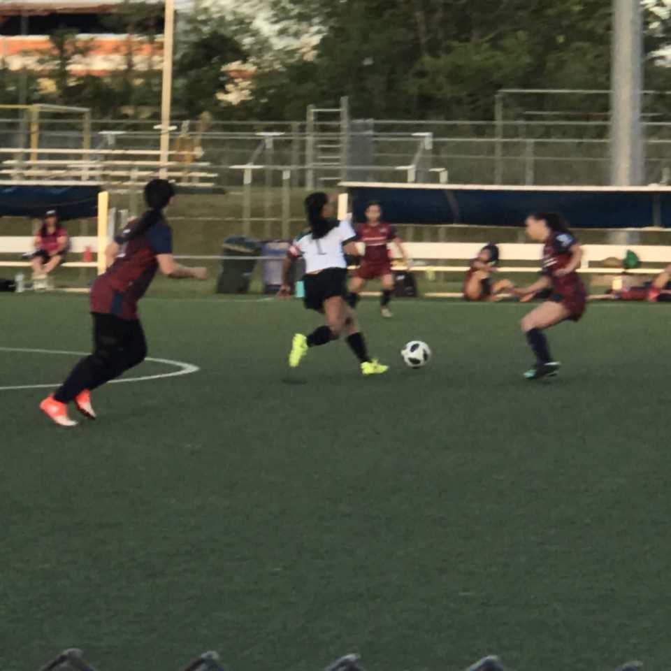 Lady Tritons soccer team beats Bank of Guam Lady Strykers 2-1
