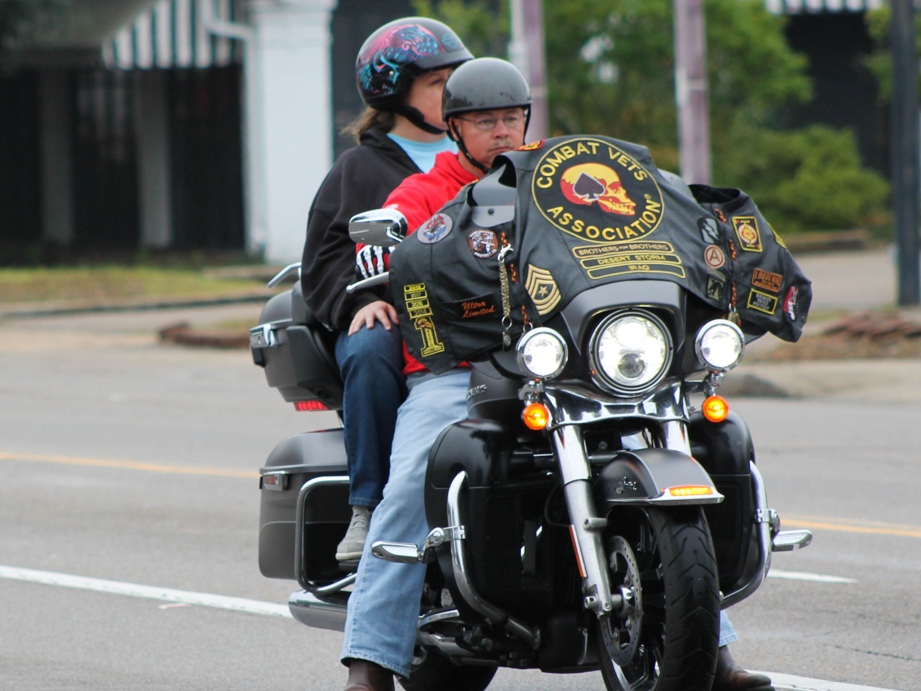 Hattiesburg honors its veterans in a parade Monday, Nov. 12, 2018.