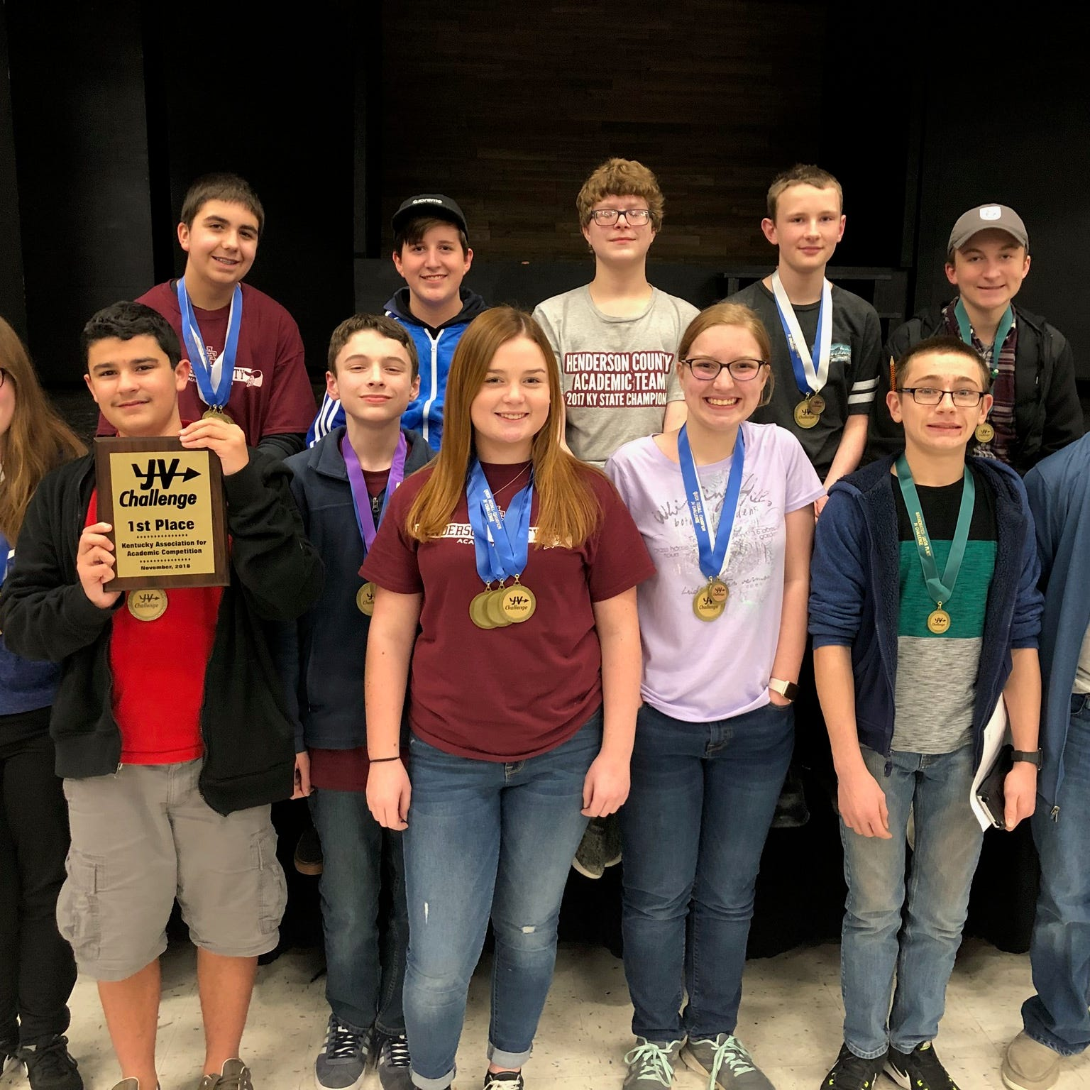Henderson County wins JV Challenge academic tournament
