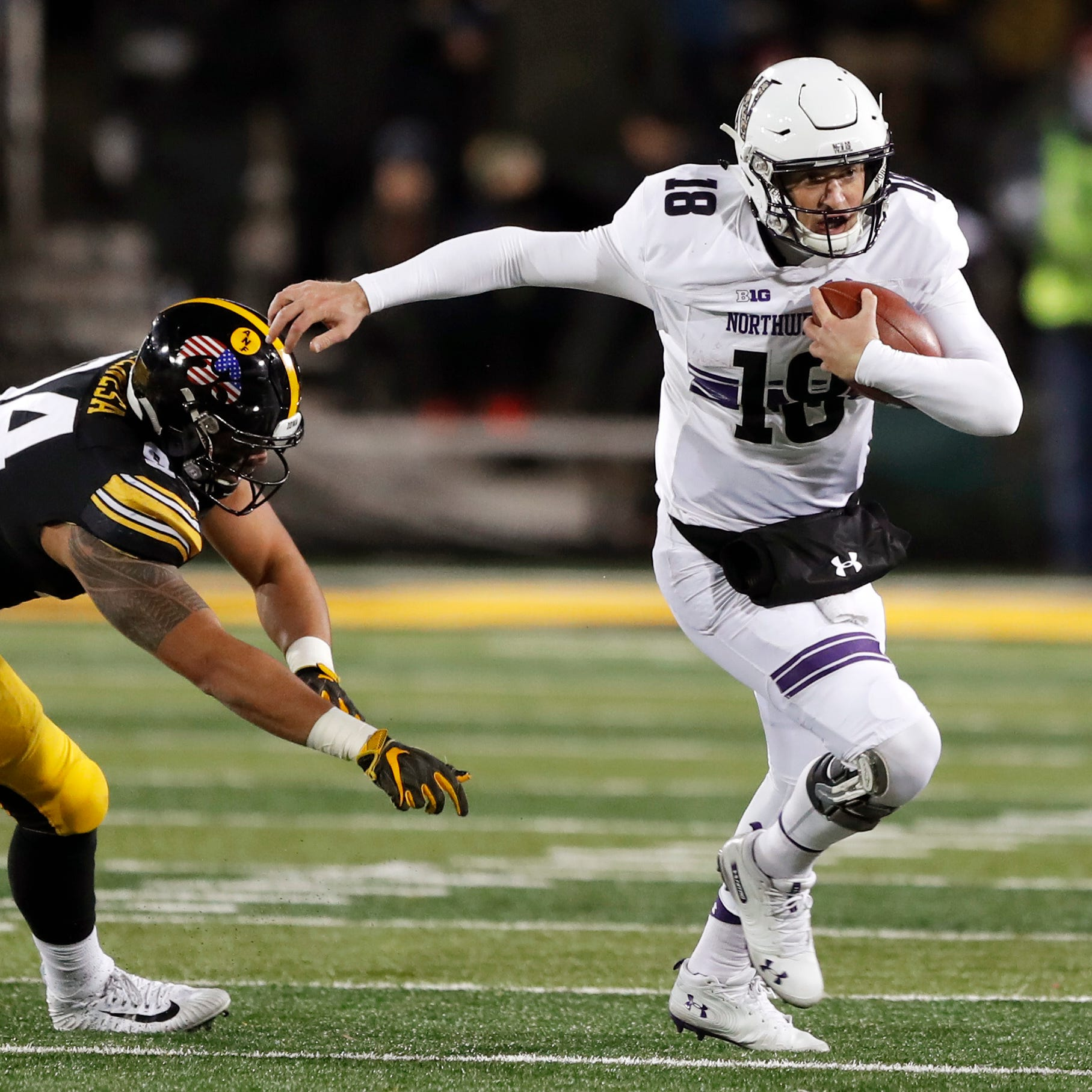 Leistikow's DVR Monday: Widespread blame warranted in Iowa's loss to Northwestern