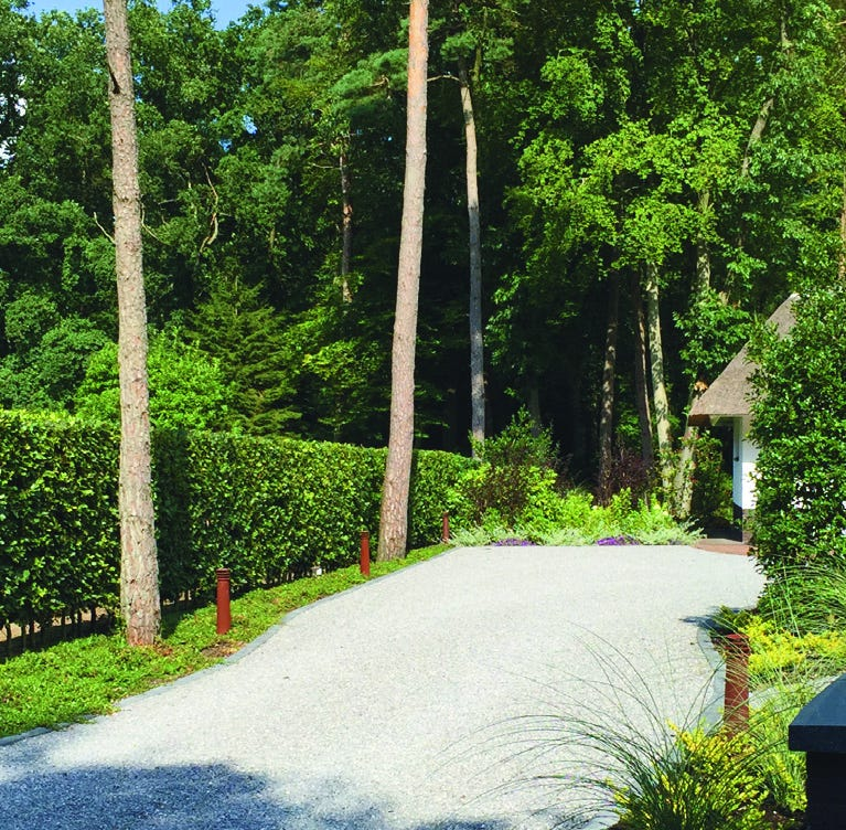 The Hoosier Gardener: Pre-formed hedges provide instant privacy