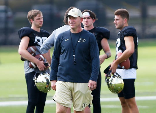 Jeff Brohm has Purdue a win shy of reaching back-to-back bowl games.