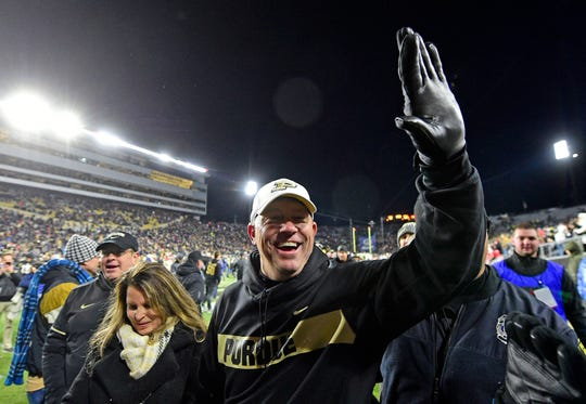 After reviving Purdue football, will Jeff Brohm be drawn home to Louisville?