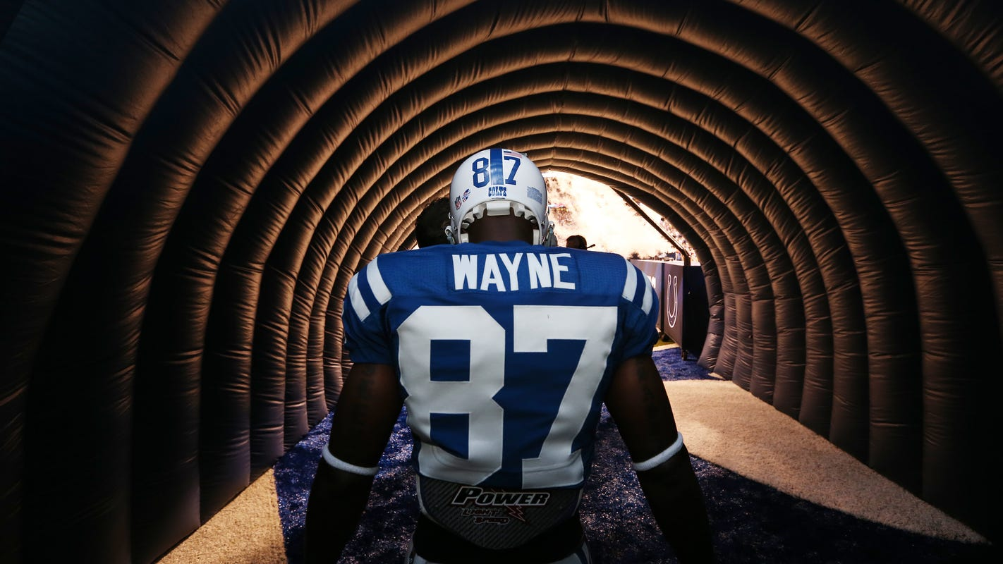 online store f8315 4eac0 Colts' 'Plan B' to the Ring of Honor: Give Reggie Wayne his due