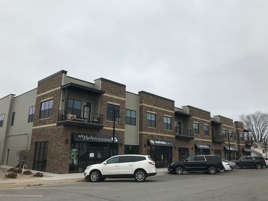 A new development on Solon's Main Street is shown on Nov. 12, 2018.