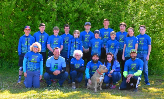 Only in its third year, the Mississippi Blues Composite Mountain Bike Team is expected to grow from 12 students last year to about 20 this year.