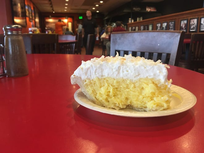 Litton's coconut cream pie
