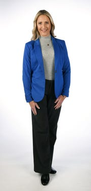 Janet Jenkins, a 40 Under 40 honoree, Wednesday, Nov. 7, 2018 at the News Sentinel.