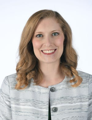 Britney Sink, a 40 Under 40 honoree, Monday, Nov. 5, 2018 at the News Sentinel.
