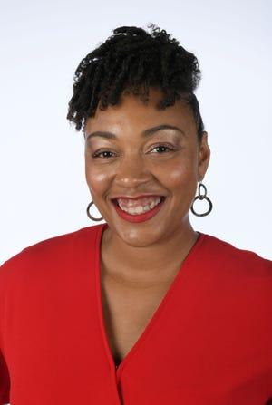 Deidra Harper, a 40 Under 40 honoree, Monday, Nov. 5, 2018 at the News Sentinel.