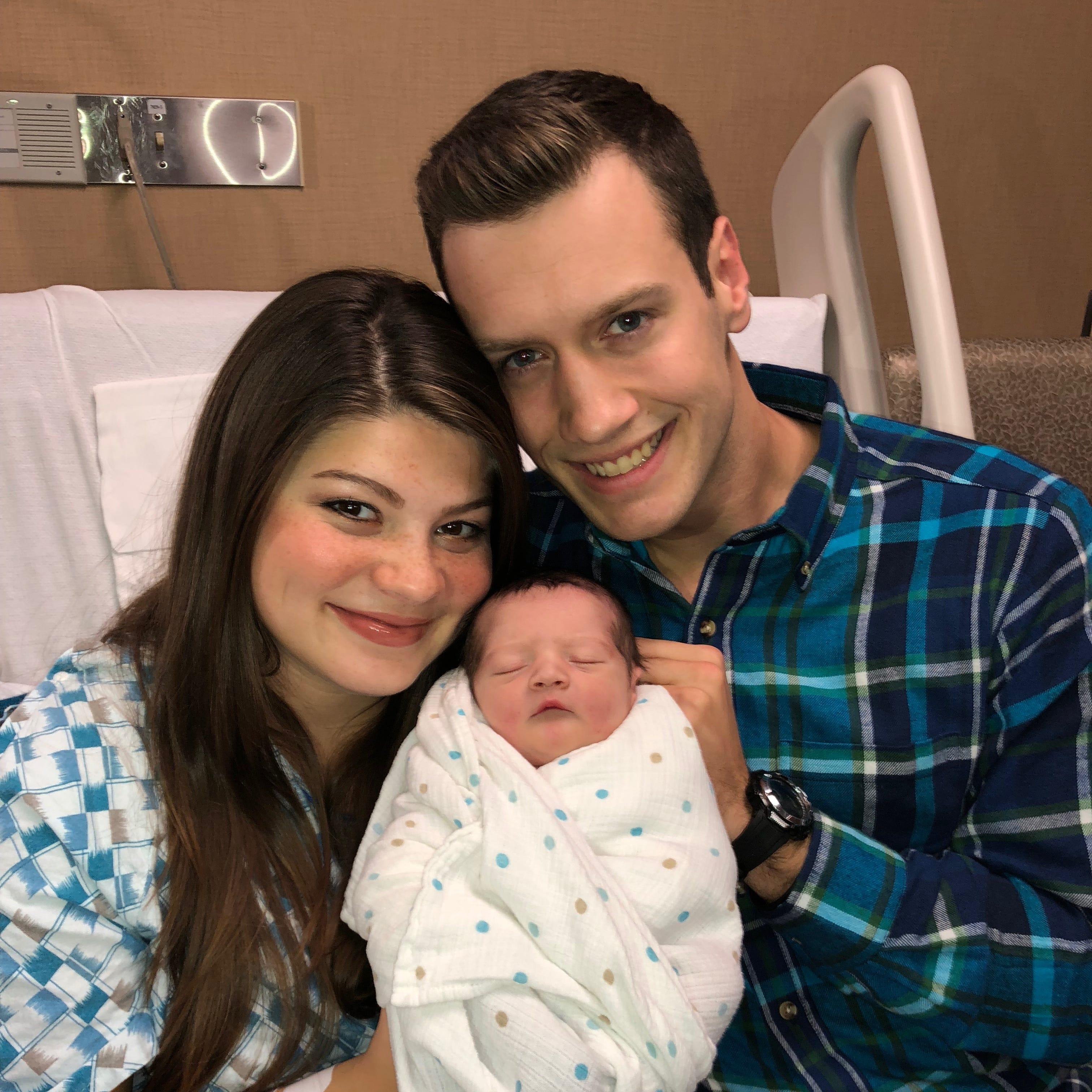 'Bringing Up Bates' stars Tori, Bobby Smith welcome newborn son Kade at Nashville hospital