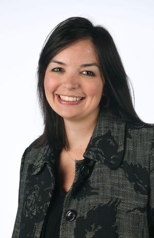 Hannah Hopper, a 40 Under 40 honoree, Monday, Nov. 5, 2018 at the News Sentinel.