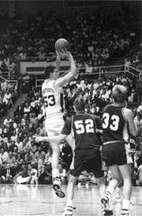 Purdue forward Todd Schoettelkotte is one of a handful of Boilermakers to migrate to West Lafayette from Texas.
