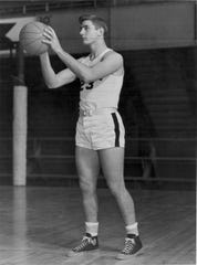Pete Brewster came to Purdue for basketball but left as an NFL draft choice of the Cleveland Browns.